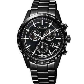 CITIZEN Eco-Drive 星辰 極光時尚大錶面腕錶 BL5495-56E