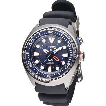 SEIKO Prospex PADI GMT 潛水聯名款運動錶 5M85-0AB0B SUN065P1