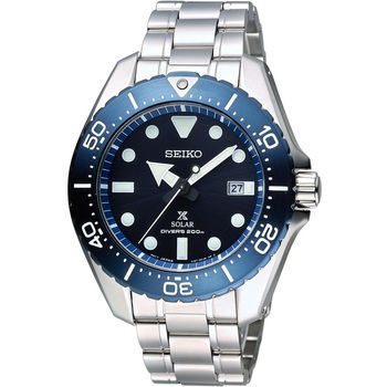SEIKO Prospex 專業運動系列200M鈦金屬潛水錶 V157-0BN0B  SBDJ011J