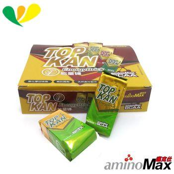 aminoMax 邁克仕 TOP KAN能量磚 運動最佳補給品 (抹茶)(20個) A083