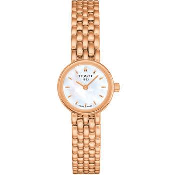 TISSOT 動人心弦時尚腕錶 T0580093311100玫瑰金色