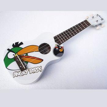 烏克麗麗 Angry bird(白)21夏威夷小吉他