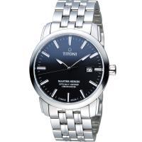 TITONI Master Series 天文台 機械腕錶 83188S~577 黑色