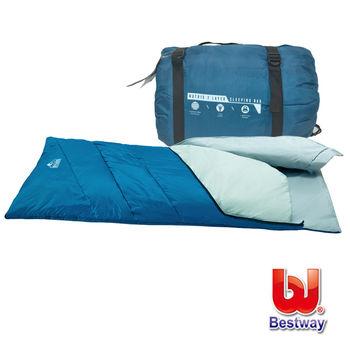 Bestway。(1.85m + 35cm) x 75cm 輕便露營睡袋