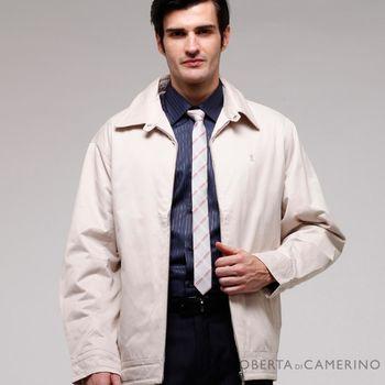 【ROBERTA諾貝達】超值嚴選 內裡舖棉夾克外套 亞麻