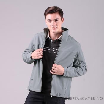 【ROBERTA諾貝達】時尚休閒 輕薄休閒防潑水夾克外套 灰色