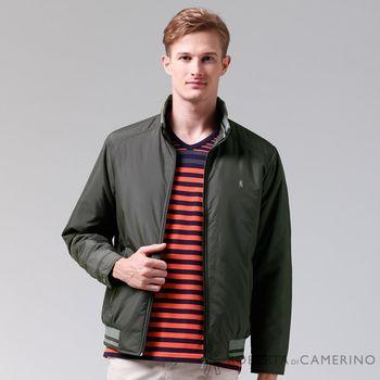 【ROBERTA諾貝達】禦寒必備 內裡舖棉夾克外套 墨綠