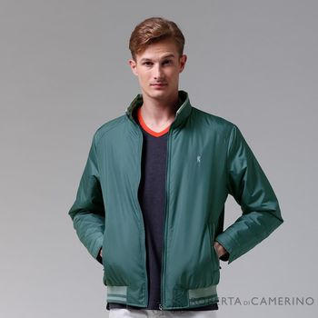【ROBERTA諾貝達】禦寒必備 內裡舖棉夾克外套 藍綠