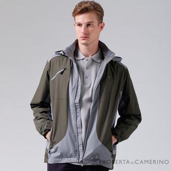 【ROBERTA諾貝達】嚴選穿搭 禦寒必備 內刷毛夾克外套 暗綠