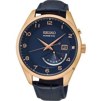 SEIKO KINETIC 人動電能時尚腕錶 5M84-0AC0B    SRN062P1