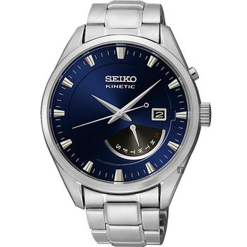 SEIKO KINETIC 人動電能時尚腕錶 5M84-0AB0B  SRN047P1