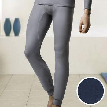 【DADADO】EKS保濕 SUPLY素面M-LL 保暖褲(深藍)