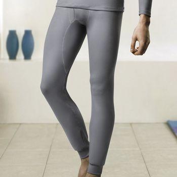 【DADADO】EKS保濕 SUPLY素面M-LL 保暖褲(淺灰)