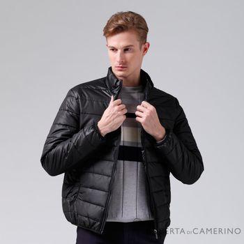 【ROBERTA諾貝達】休閒極品 禦寒必備 厚舖棉夾克外套 黑色
