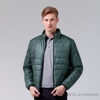 【ROBERTA諾貝達】休閒極品 禦寒必備 厚舖棉夾克外套 灰綠