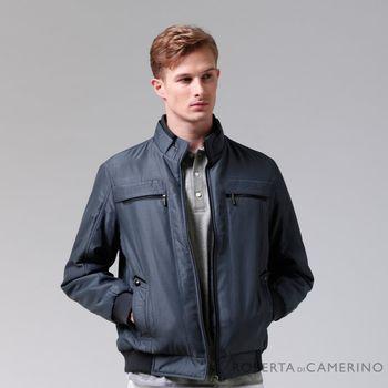 【ROBERTA諾貝達】禦寒必備 獨特魅力 厚舖棉夾克外套 暗藍