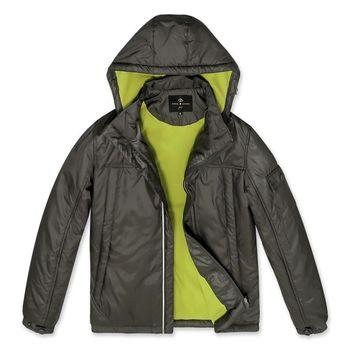 PB 鋪棉輕暖刷毛連帽外套‧苔綠M-XXL