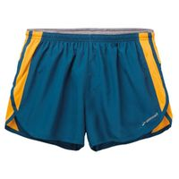~BROOKS~ 男款 ^#45 二件式慢跑短褲3.5吋 波賽頓藍 ^#47 芒果橘 ^#