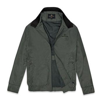 PB 經典格紋輕量風衣外套‧卡其M-XXL