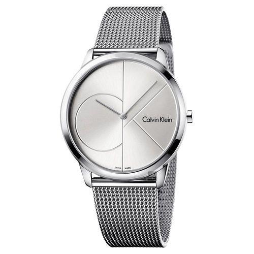 Calvin Klein CK Minimal 經典大LOGO腕錶 K3M2112Z