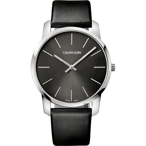 Calvin Klein CK City 極簡經典LOGO腕錶-43mm K2G21107