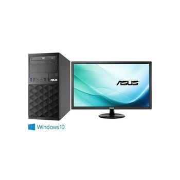 ASUS 華碩 MD790 i7-6700四核 Win10Pro 桌上型電腦+VP229DA 21.5吋 電腦螢幕 超值組