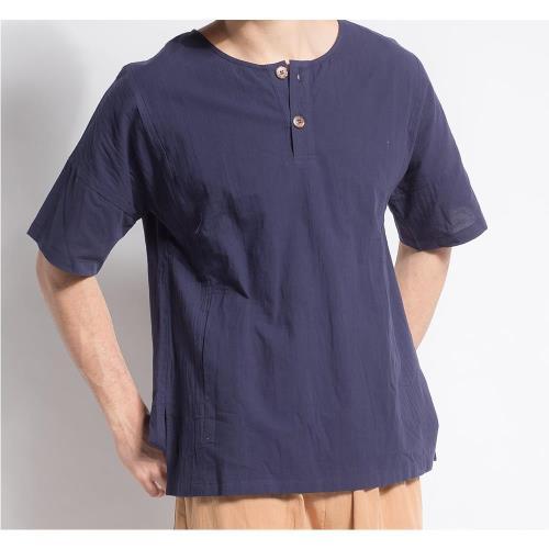 水衫透氣呼吸棉簡約型男上衣 106-03-60
