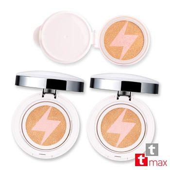 ttmax 珍珠光感舒芙蕾氣墊粉餅 2入+ 補充蕊 1入