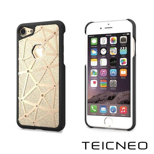 TeicNeo 航太鋁合金手機保護殼   晶之枷鎖 iPhone 7榮耀金