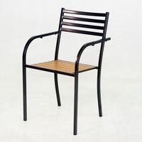 BROTHER 兄弟牌塑木扶手椅 ^#45 鐵框