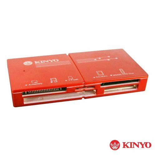 KINYO USB 3.0 極速超輕薄讀卡機