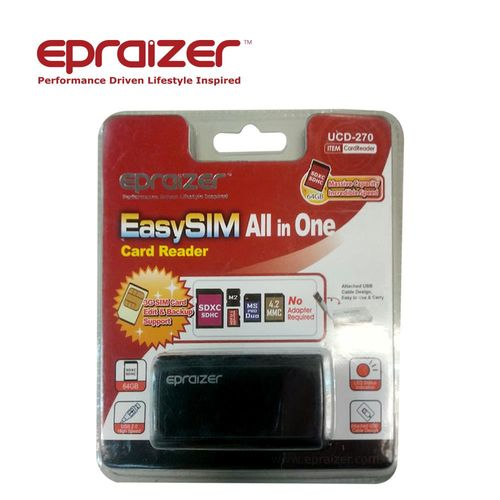Epraizer(福利品) UCD-270 多合一SIM讀卡機 -黑色
