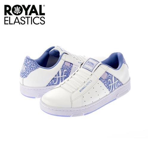 【Royal Elastics】女-Icon 休閒鞋-白/紫(92064-006)