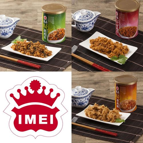 【義美】海苔和純豬肉鬆和肉脯任選3罐組(130g/罐  三種口味可選)