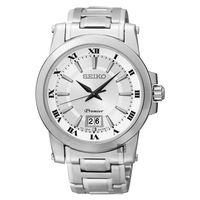 SEIKO Premier 羅馬主義大視窗 腕錶 40mm 6N76 ^#45 00B0S