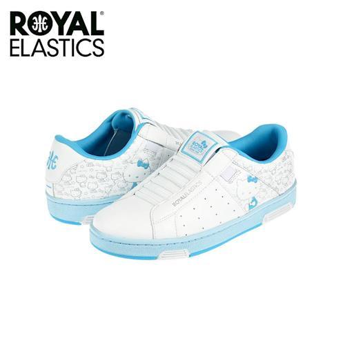 【Royal Elastics】女-Icon Hello Kitty 聯名款 休閒鞋-水藍(92072-500)