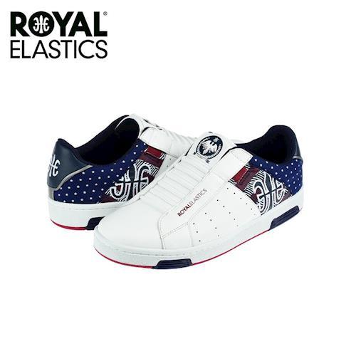 【Royal Elastics】女-Icon National Star 休閒鞋-白/藍(92072-510)