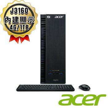 ACER 宏碁 XC-704 J3160 四核 Win 10 桌上型電腦