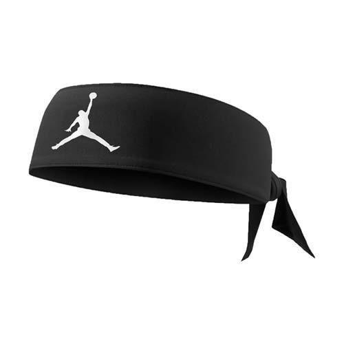 【NIKE】JORDAN JUMPMAN DRI-FIR頭帶-飛人喬登 籃球 NBA 黑白
