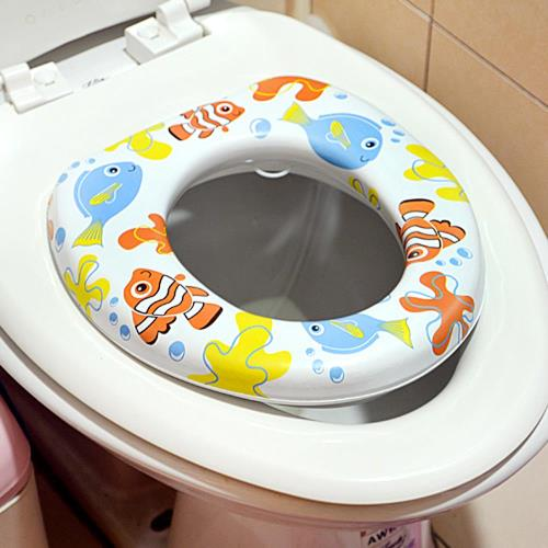 小兒彩色馬桶軟墊 馬桶蓋 馬桶座 馬桶軟墊 輔助便座 衛生馬桶墊 幼兒 兒童