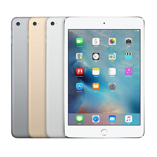 Apple iPad mini 4 128GB 7.9吋平板電腦 WiFi 送藍芽耳機