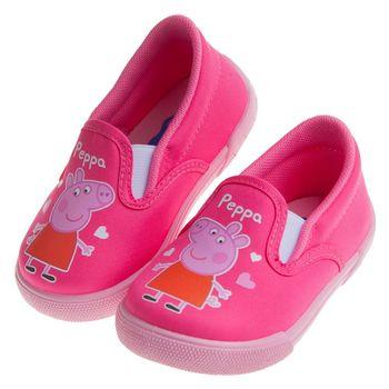 粉紅豬小妹佩佩豬豬粉色兒童輕便休閒鞋室內鞋(14~18公分)