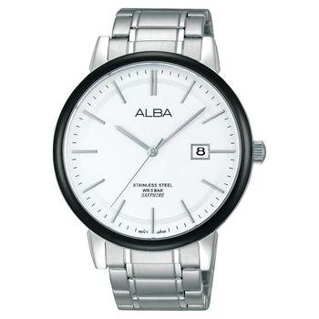 ALBA 日系紳士品味時尚手錶 43mm VJ42-X131S AS9907X1