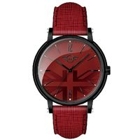 ~MINI Swiss Watches~簡約英國旗幟計時腕錶 #45 紅 #40 MINI
