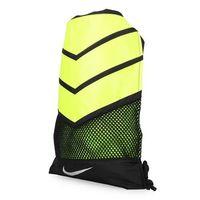 NIKE VAPOR 束口袋 ^#45 雙肩包 後背包 收納袋 黑螢光黃