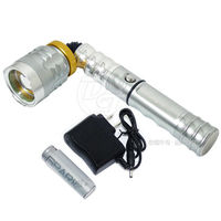 雷特斯38W亮度T6變焦LED磁鐵工作燈 LTS~800
