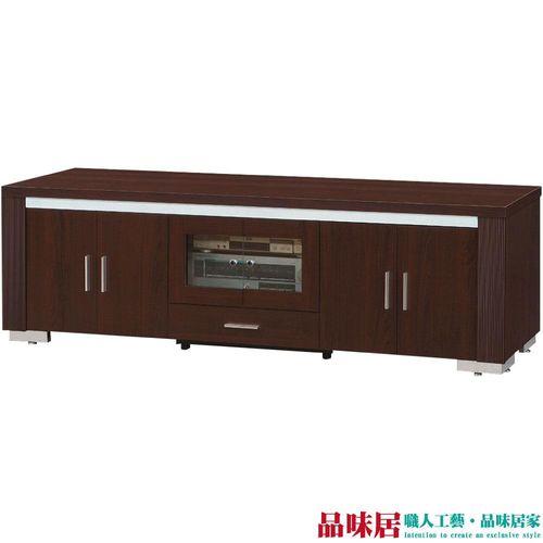 【品味居】札克 時尚6尺胡桃木紋電視櫃/視聽櫃
