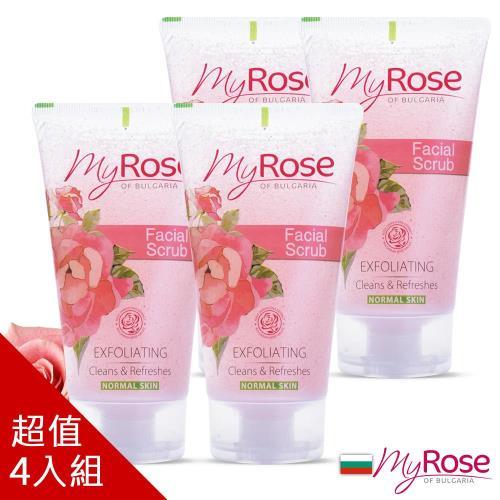 保加利亞My rose玫瑰臉部溫和去角質凝膠150ml 四入