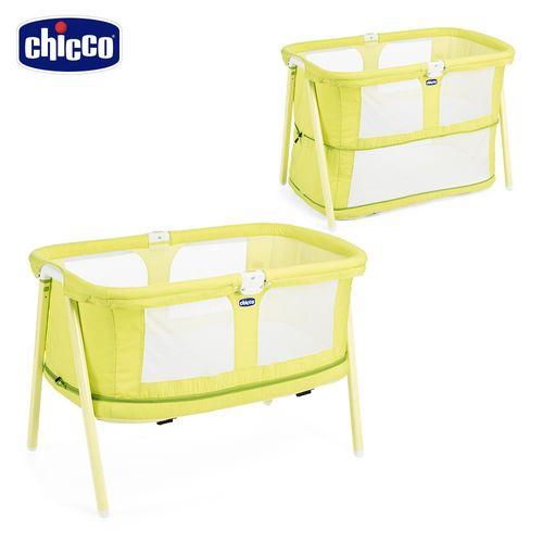chicco-Lullago Zip可攜式兩段嬰兒床-萊姆翠綠