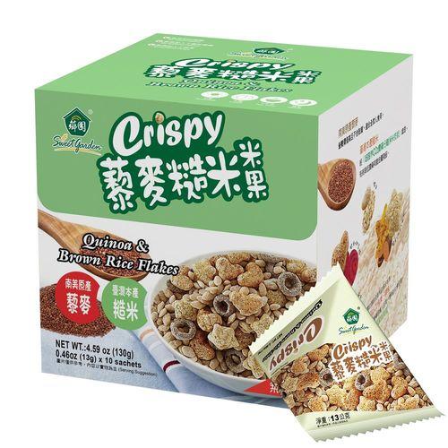 【薌園】藜麥糙米米果(13gx10入)x4盒